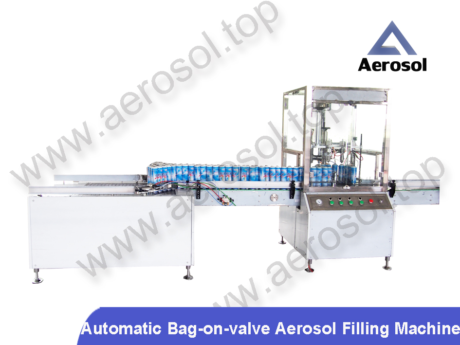 AB-2B Automatic Bag-on-valve Aerosol Filling Machine
