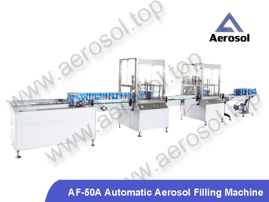 Aerosol Filling Machine