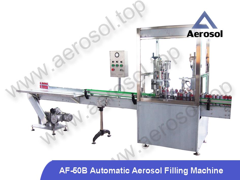 AF-50B Automatic Aerosol Filling Machine