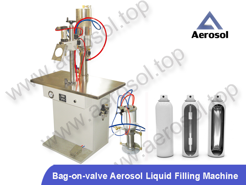 ASB Semi-automatic Bag-on-valve Aerosol Liquid Filler