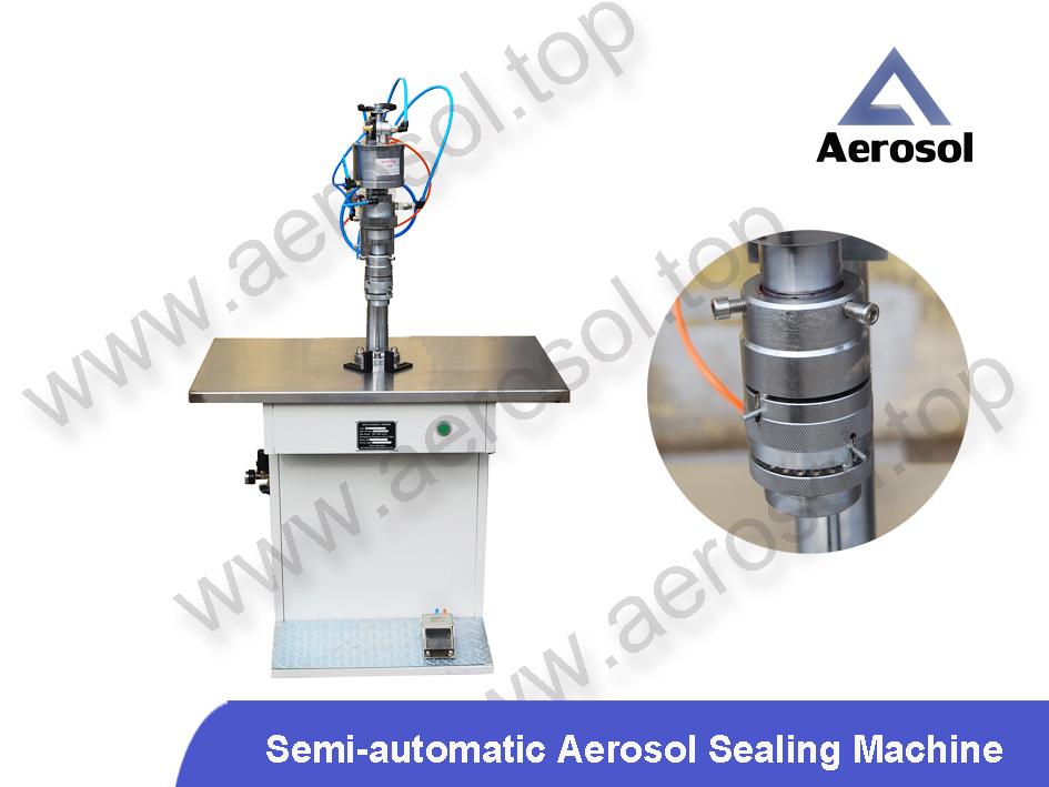 ASS Semi-automatic Aerosol Sealing Machine