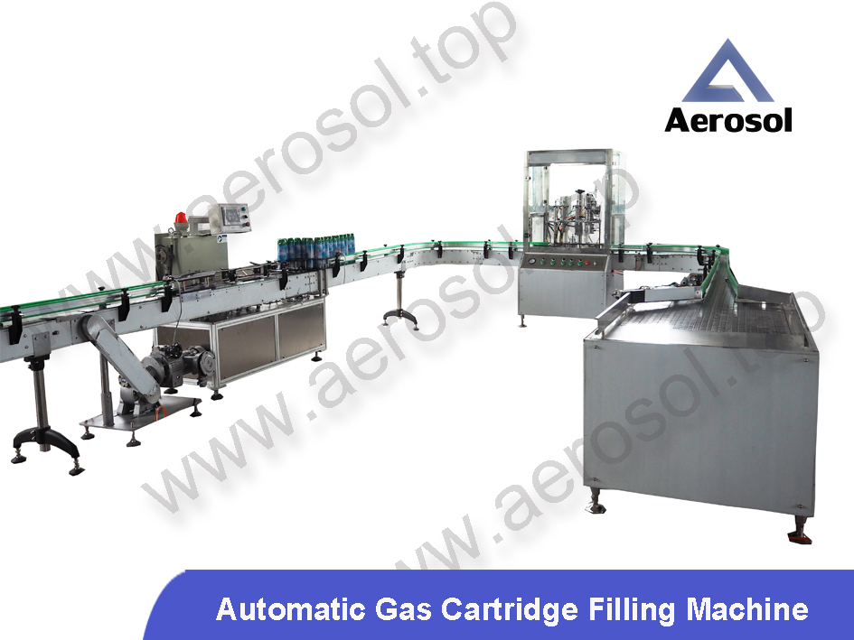 Automatic Gas Cartridge Filling Machine