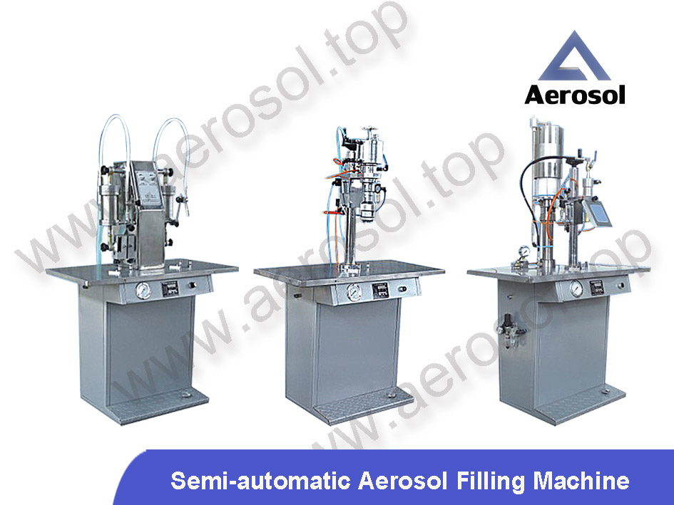 AVL-3A Semi-automatic Aerosol Filling Machine