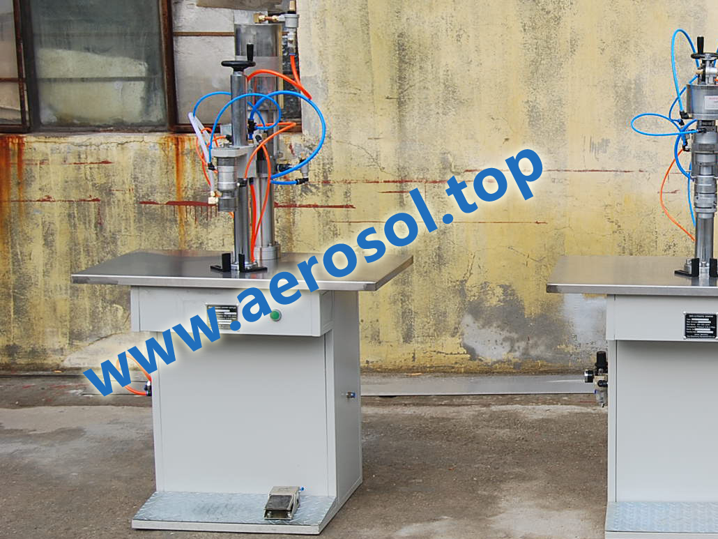 ASL Semi-automatic Aerosol Liquid Filler