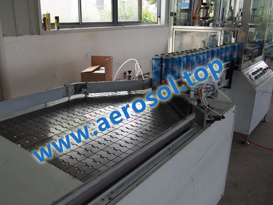 AFF Aerosol Can Arranging Machine--- Feeding