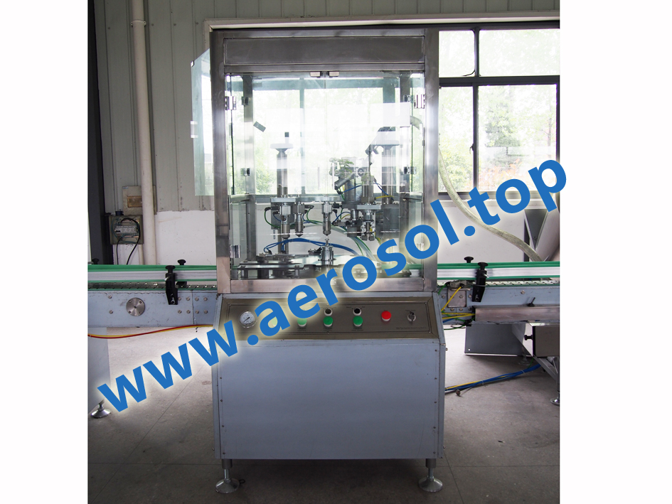 AF-50A  Automatic Aerosol Filling Machine