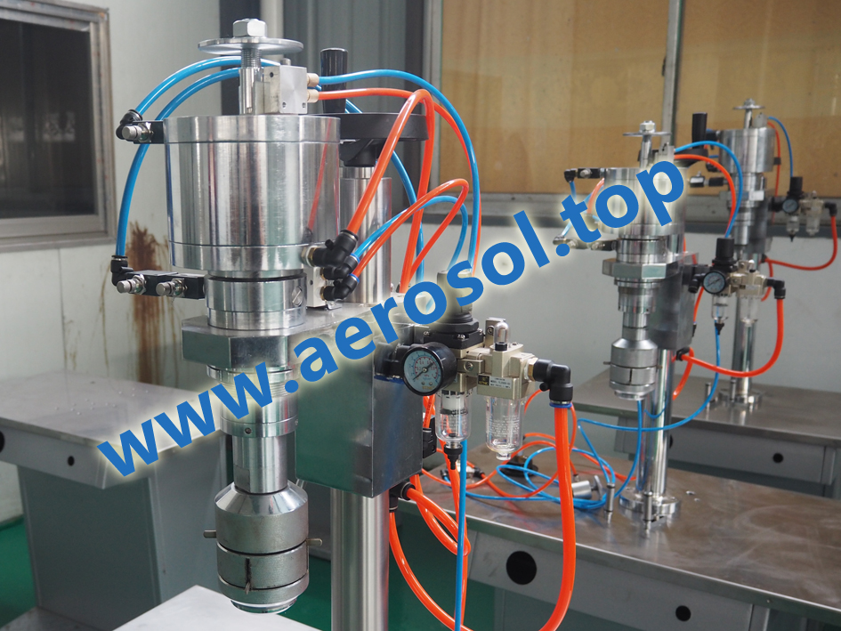 AVS Semi-automatic Aerosol Sealing Machine