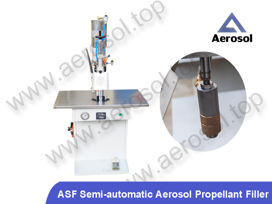 ASF Semi-automatic Aerosol Propellant Filler